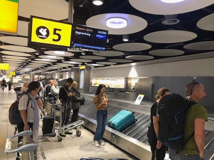 Airport Luggage Carousel