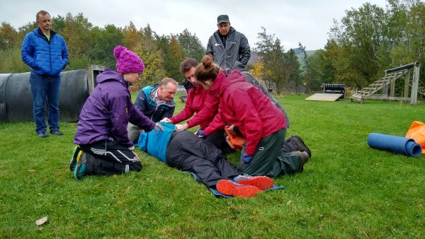 16hr Outdoor First Aid