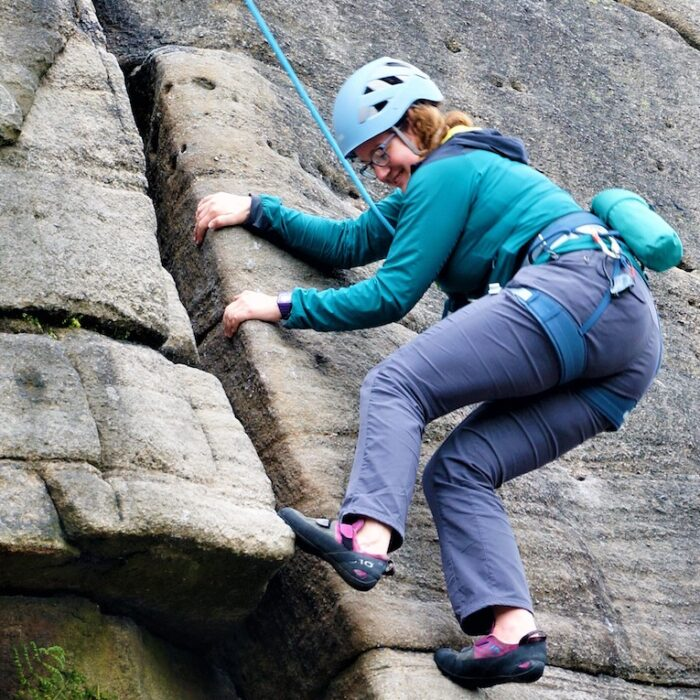 Intermediate Rock Climbing