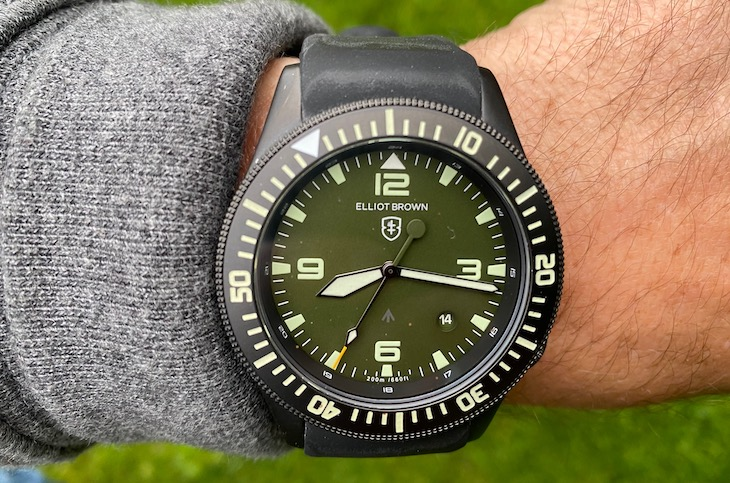 Elliot Brown Holton Professional Watch Review