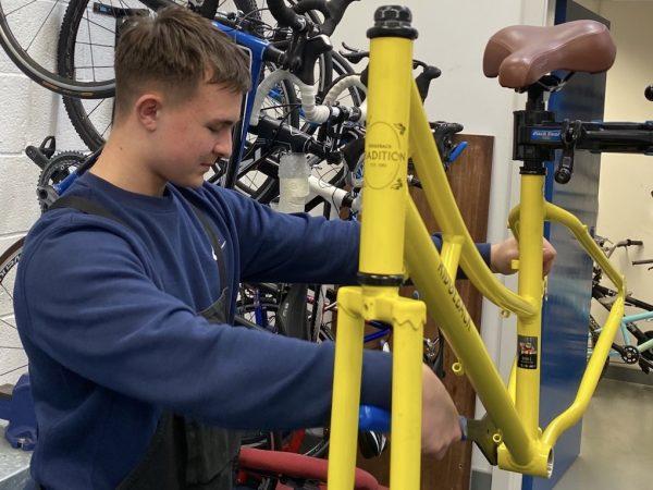 Double Black Bike Repair