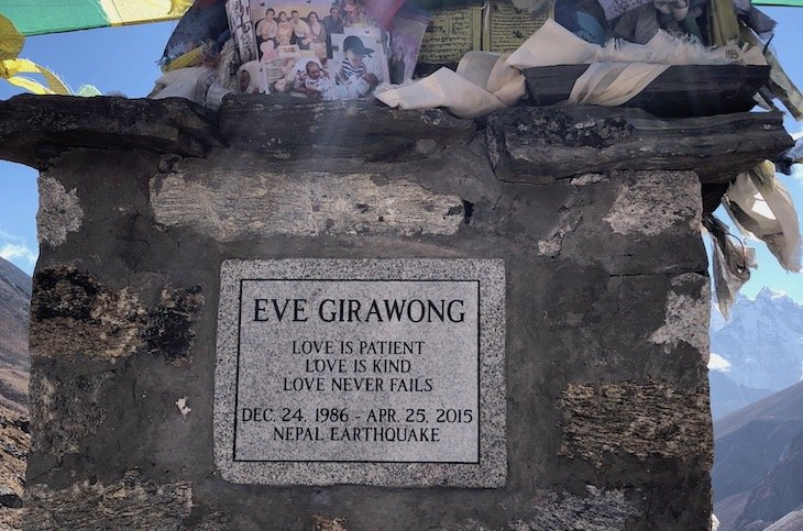 Memorial to Eve Girawong