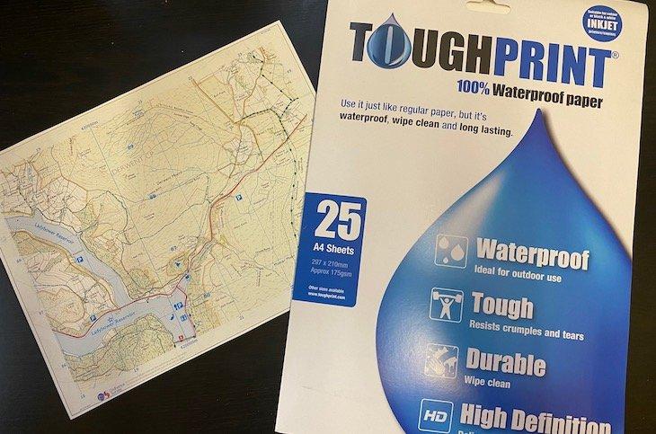 Waterproof Map Paper