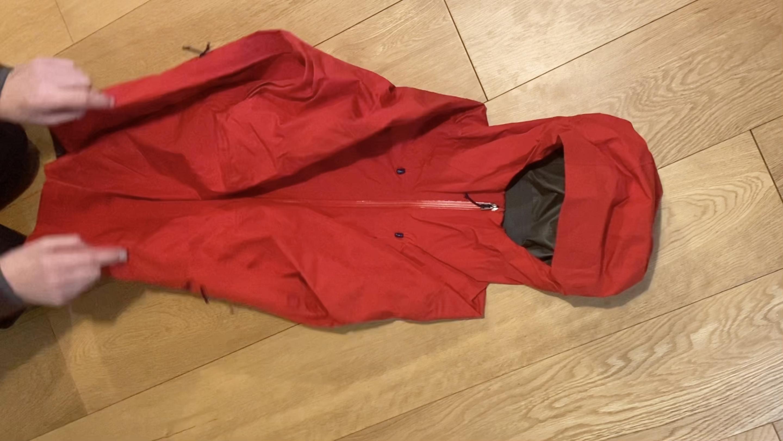 Hooded Jacket Rucksack Storage
