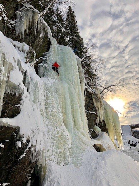 norway-ice-climbing-at-sunset