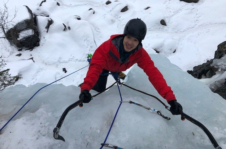 reaching-the-top-of-a-norway-ice-climb