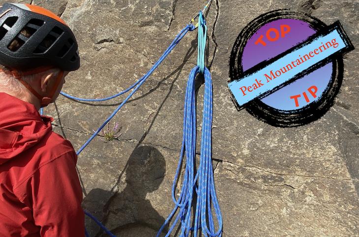 Rope Management At Belays
